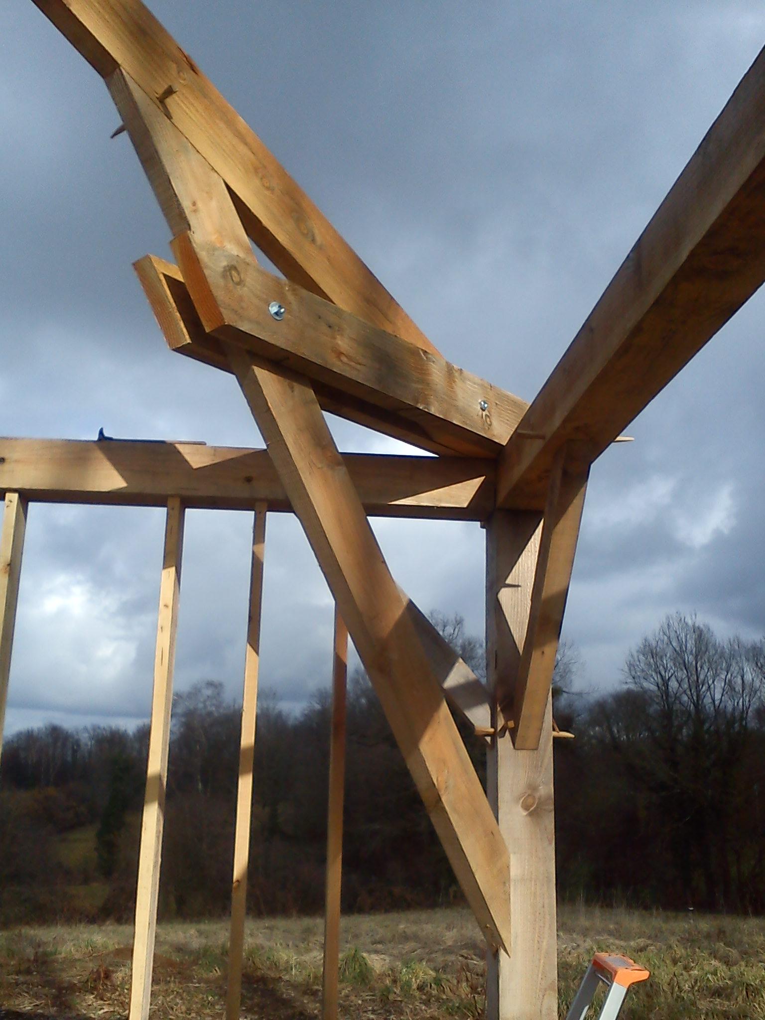 Douglas Bois Caracteristique : exemple d ouvrage bois exemple d ouvrage bois maison ossature